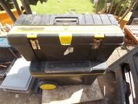 Stanley tool chest and tool box £30 the pair
