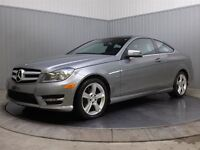 2012 Mercedes-Benz C-Class C250 COUPE MAGS TOIT PANO CUIR