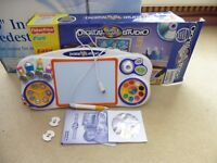 fisherprice digital arts and studio , plug into a laptop or computer maybe tv