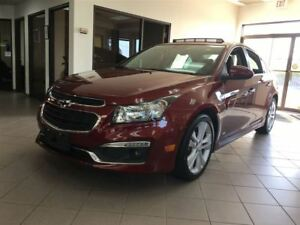 2015 Chevrolet Cruze LTZ / LEATHER / SUNROOF / NAVI
