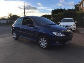PEUGEOT 206 1.4 SE VERVE MOT 2018 1 OWNER SINCE NEW 34k WARRARNTY INCLUDED