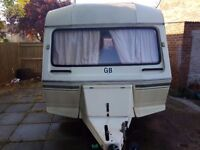 Very clean 4 berth Caravan