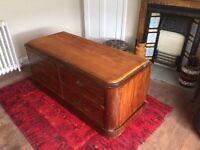 Chest of drawers tv unit vintage upcycle