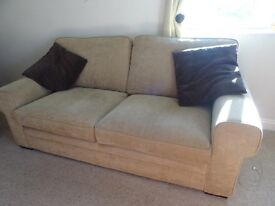3 seater, 2 seater & footstool with storage