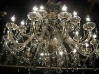 Truely Magnificent ~ Massive Metre Wide Crystal Chandelier ~