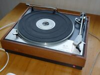 Goldring Lenco transcription turntable GL75 with Shure M55E cartridge