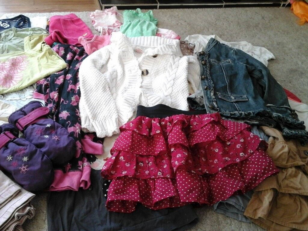 Girls clothes bundle for aged 5-6years in good condition