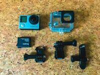 GoPro Hero 4 Silver with 3 Extra Batteries and Charger