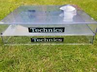 Technics 1200-1210 deck lids / covers (pair)