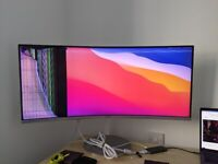 """[BROKEN] - Samsung LC34F791WQUXEN 34"""" Curved Ultra Wide Monitor"""