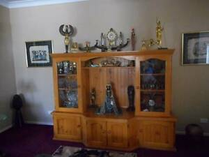 Large Wall Unit or Display Cabinet Highfields Toowoomba Surrounds Preview