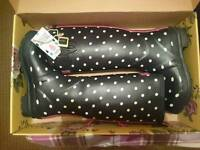 Ladies Size 7 Joules Wellies