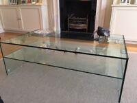 Pure Glass Arc Coffee Table GA100