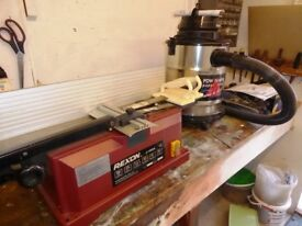Rexon 6 inch Surface Planer complete with Extractor