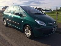 CITROEN XSARA PICASSO SX HDI 5 DOOR LONG MOT!!!