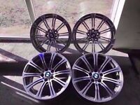 Bmw M3 Genuine Original Staggered Alloys Fronts 8.5j Rears 8.5j Can Sell Singles Can Post