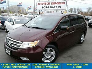 2013 Honda Odyssey Touring Navigaton/Blindsport/Power Doors