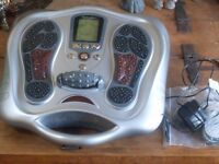 Bioenergiser for gentle stimulation through the feet