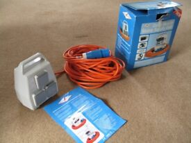 New Powerpart Delta Mobile Mains Supply Unit for camping, tent, caravan, etc.