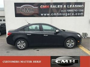 2013 Chevrolet Cruze LT TURBO CHROME-PKG BLUETOOTH LOADED *CERTI