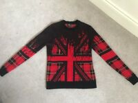 Alistair McQueen Tartan Wool Jumper