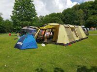 Vango Verde 900 9 Man Large Family Tent + Carpet & Footprint