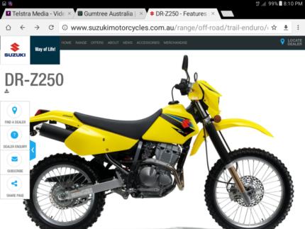 Wanted to buy Suzuki DRZ250