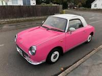 *BLACK FRIDAY DEAL* REDUCED FROM £3695 TO £3395 CLASSIC RARE NISSAN FIGARO CONVERTIBLE 67,000 MILES