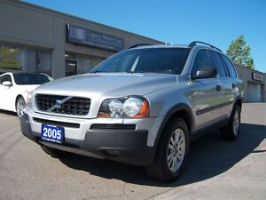2005 Volvo XC90 2.5T 7-Passanger DVD Leather Sunroof