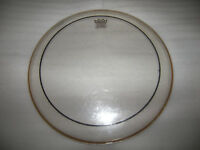 "Remo 13"" Clear Pinstripe Drum Head , Skin / Used !"