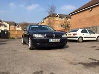 BMW 750Li, 750, 750i Blue (56 plate), Long wheel base, Full specs.