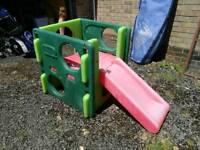 Small children's slide