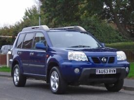 Nissan X-Trail 2.5 Sport - X 5dr£1,399 p/x welcome GOOD SERVICE HISTORY,LONG MOT