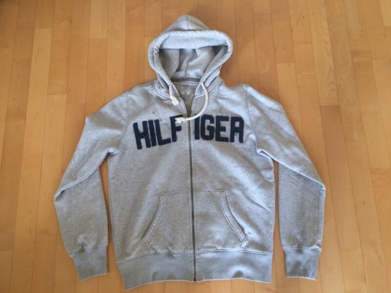 reserviert hilfiger denim zip jacke in grau gr e xl in bayern f rth ebay kleinanzeigen. Black Bedroom Furniture Sets. Home Design Ideas