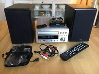 Denon RCD-M37DAB + Denon Speakers + Denon iPod Dock (Excellent Condition)