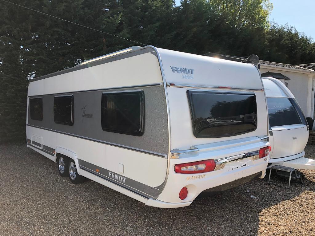6103732891 Fendt caravan 650 Mayfair (2012 13 model) like hobby tabbert. One owner  from new!
