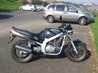 1999 Suzuki GS500 E W, lower than average mileage.