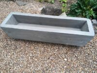Solid Wood Planter - Made out of a Railway Sleeper