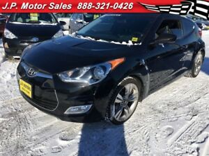 2012 Hyundai Veloster Tech, Manual, Navigation, Leather, Sunroof