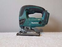 MAKITA DJV180 18V Cordless Li-Ion JIGSAW body only,used, i can supply batts/charger.