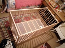 Ikea cot as new