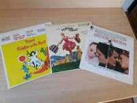 Sound of music/ Dr Zhivago/ Fiddler on the roof original edition Soundtrack records.