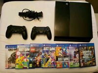 PlayStation 4 - Camera - 2 controllers + Games