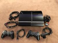 PlayStation 3 80GB (CECHM03) with 19 Games