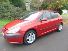 For Sale 2002 Red Petrol Automatic Peugeot 307 GLX 16V April 2018 MOT Nice Example £695 Or ONO