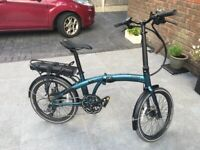 Folding electric bike only used for about 2 week