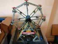 Meccano ferris wheel