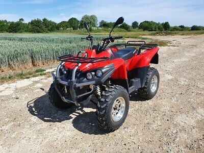2008 APACHE RLX 320 UTILITY ATV QUAD BIKE ROAD REGISTERED WITH WINCH AND TOWBALL