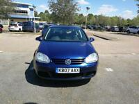 VW Golf 2007, 1.6 in good condition