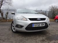 58 FORD FOCUS TD 115 1.8 DIESEL 5 DOOR,2 OWNERS FROM NEW,PART HISTORY,2 KEYS,STUNNING EXAMPLE